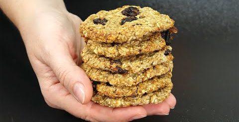 Могу есть, СКОЛЬКО ХОЧУ! Печенье без муки и жира за 15 минут - Вкусная минутка