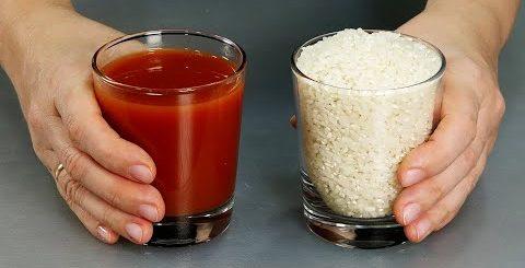 Рис на ужин ПО-НОВОМУ! Нужна лишь сковорода и минимум продуктов! Вкуснейший рис с томатной пастой - Вкусная минутка