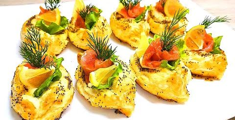 Съедаются подчистую! Красивые закуски, которые обязательно должны быть на вашем столе! -
