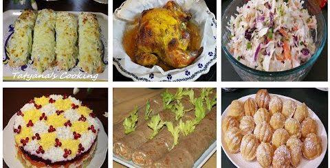 Меню на Пасху! ? 6 Блюд на Праздничный стол!!!? -