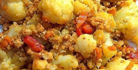 Цветная капуста и мясной фарш – что приготовить   Вкусный, простой и быстрый ужин