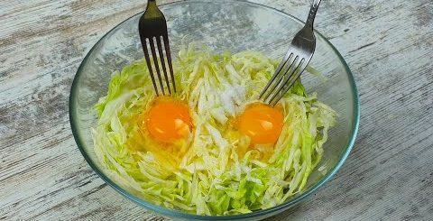 Капуста и 2 яйца Вкусный ужин из простых ингредиентов Так КАПУСТУ вы еще НЕ ГОТОВИЛИ!