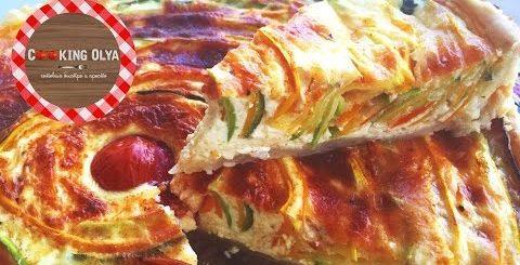 Солнечный летний пирог | Быстрые и простые рецепты от CookingOlya