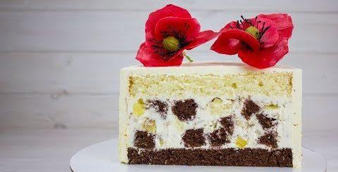 ТОРТ ПАНЧО ПО НОВОМУ РЕЦЕПТУ. Торт который очень легко готовить с красивым разрезом. Простой торт - Готовим вкусно cook delicious food