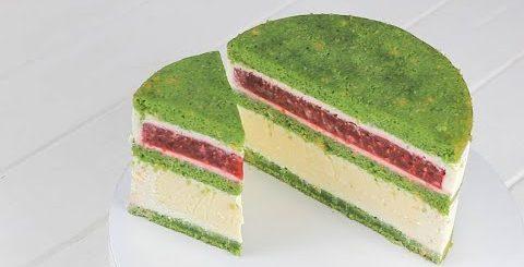 """НАЧИНКУ ТОРТА НИКТО НЕ УГАДАЛ. Необычны торт """"Летняя поляна"""". Торт для тех кто любит оригинальность -"""