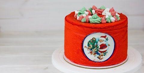 Украшаем торт без капли крема. Яркое украшение торта на новый год + розыгрыш для подписчиков ноябрь - Готовим вкусно cook delicious food