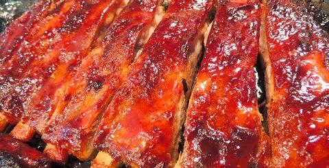 РЕБРЫШКИ В ДУХОВКЕ без маринования, мягкие и сочные, отпадают от костей. Секрет нежного мяса.