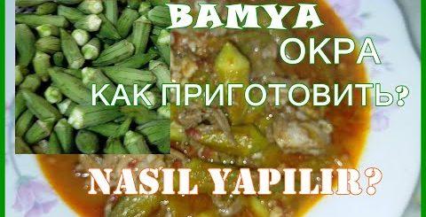 Как приготовить вкусную Oкру или Дамские пальчики / Bamya nasıl yapılır? Рецепт из турецкой кухни