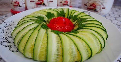 Салат с КАЛЬМАРАМИ. Салат на праздничный стол, праздник, Новый Год. Вкусный салат. Простой рецепт -