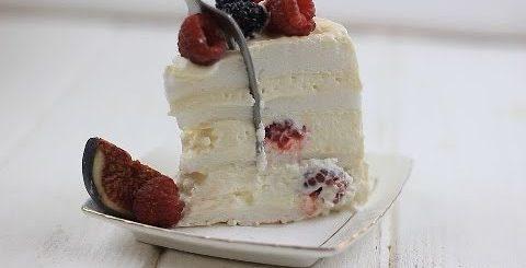 МЕРЕНГОВЫЙ ТОРТ. ВКУСНО, НЕЖНО, ПРОСТО. Рецепт торта к чаю. Торт без бисквита с ягодами и кремом. - Готовим вкусно cook delicious food