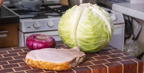 Салат из капусты. Готовлю Три раза в день. Идеальный  салат для вашего мужчины. -