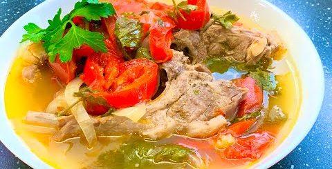 Хашлама по-армянски из баранины! Всегда вкусно! Мясо с овощами, легко приготовить, и дети любят!!!